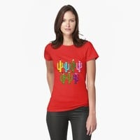 'Christmas Cactus' T-Shirt by Gravityx9