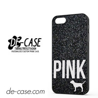 Black Glitter Victoria's Secret DEAL-1863 Apple Phonecase Cover For Iphone 5 / Iphone 5S