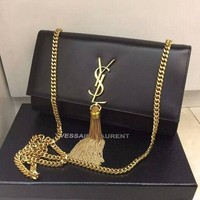 PEAPONQK YSL SAINT LAURENT A232011 BLACK BAG HANDBAG