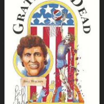 Grateful Dead - Bill Walton Signed Poster