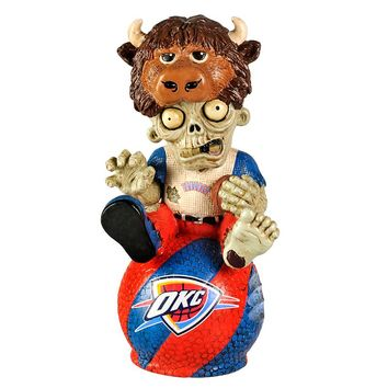 Oklahoma City Thunder Thematic Zombie Figurine (Okt Team)