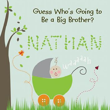 Big Brother Personalized Storybook - Soft Cover