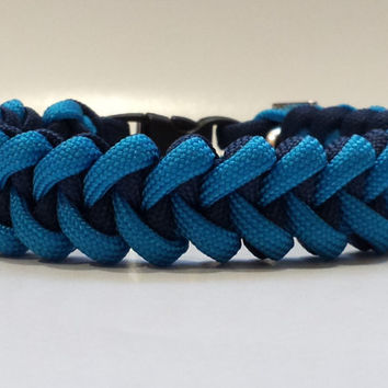 Custom survival paracord bracelet. SHARK TOOTH