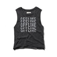 Offline Graphic Muscle Tank