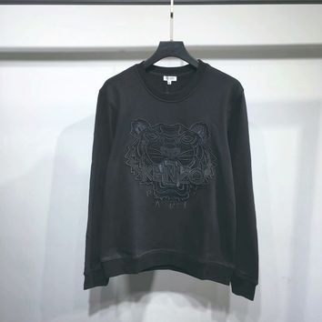 KENZO Woman Men Fashion Simple Pullover Top Sweater