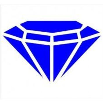 DIAMOND rock jule stone classy Car Window Vinyl Decal Tablet PC Sticker