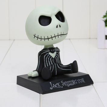 Nightmare Before Christmas Jack bobble head figure action statue mantle display art movie dvd SQ12017 hwd