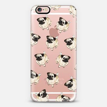 PUG PATTERN iPhone 6s case by Katie Reed | Casetify