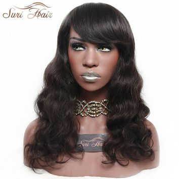 22 inch Hebrew Queen Style Body Wave Heat Resistant Synthetic Wigs With Bangs