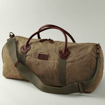 Signature Zipper Duffle, Medium: Bags and Totes | Free Shipping at L.L.Bean