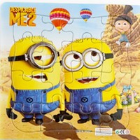 Minions 3D Paper jigsaw puzzles toys for children