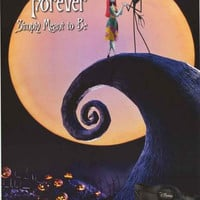 Nightmare Before Christmas Now and Forever Poster 22x34