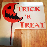 Trick R Treat movie Decal