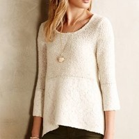 Felted Lace Pullover by Knitted & Knotted