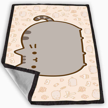 Pusheen Cat Blanket for Kids Blanket, Fleece Blanket Cute and Awesome Blanket for your bedding, Blanket fleece *