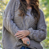 Explosion women's cardigan loose sweater sweater