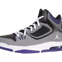 Nike Jordan Flight 23 RST Black Cool Grey Purple Men Basketball Shoes 512234-017