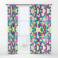 Mosaic Window Curtains by edrawings38