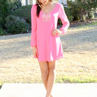She's a Gem Dress - Neon Pink