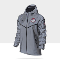 Check it out. I found this Nike MS Reflective Windrunner (USA) Women's Running Jacket at Nike online.