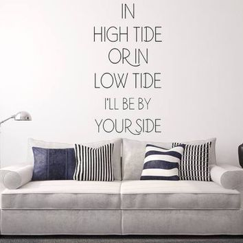 In High Tide Wall Decal