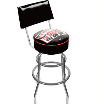 WWE The MIZ Padded Bar Stool with Back