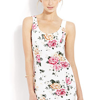 Garden Girl Bodycon Dress