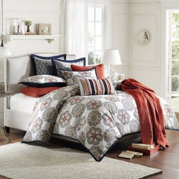 Hampton Hill Genie 4pcs. Comforter set - Twin