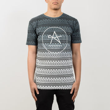 Circle Tron Top Dip Dye T-Shirt