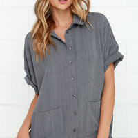Short Sleeve Blouses | Find A Cute Short Sleeve Blouse at Lulu*s - Page 4
