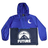 Ice Moon Windbreaker in Royal/Navy