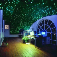200pcs 3D Glow In The Dark Stars Stickers Bedroom Home Wall Room Decor DIY Home Gift