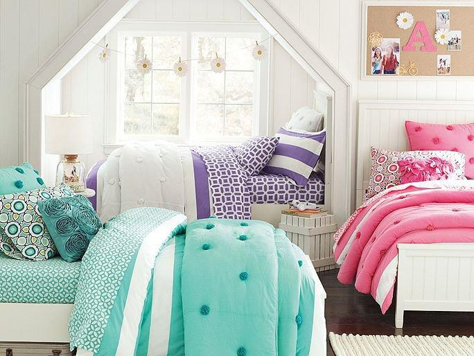 Https Wanelo Com P 6898683 Beadboard Crinkle Puff Bedroom