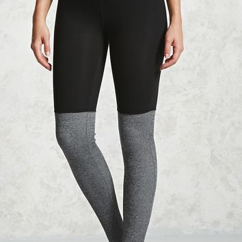 Active Contrast Ribbed Leggings