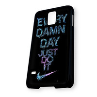Water Splash Nike Every Damn Day Just Do It Samsung Galaxy S5 Case