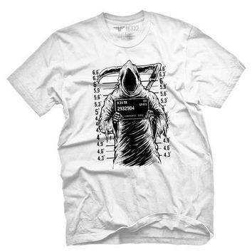 Fifty5 Clothing Grim reaper Mugshot Men's T Shirt