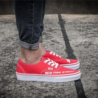 Vans New York Street Skateboarding Shoes 35-44