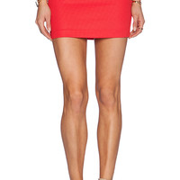 BCBGeneration Mini Skirt in Coral