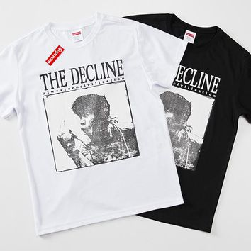 Cheap Women's and men's supreme t shirt for sale 85902898_0139