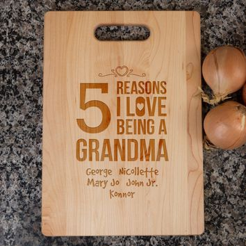 Grandma Cutting Board