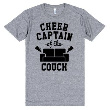 Cheer Captain Of The Couch