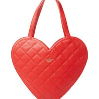 Kate Spade New York Secret Admirer Quilted Heart Tote
