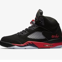 "Air Jordan 5 ""Bred""  Basketball Sneaker"