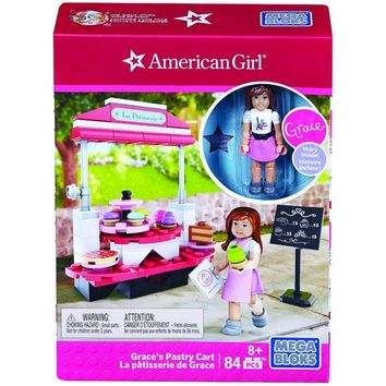 Mega Bloks(R) DPK83 American Girl(R) the Grace(TM) Pastry Cart