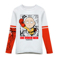 M-3XL One Punch Man Long Sleeves shirt CP164699