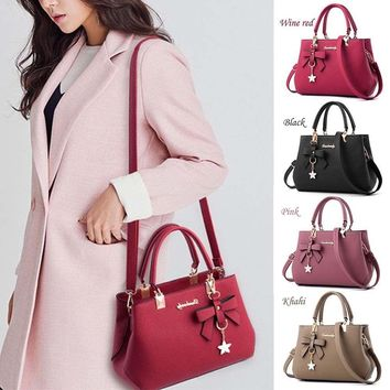USA Women Handbag Shoulder Bags Tote Purse PU Leather Women Messenger Hobo Bag