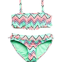 Festive Fringe Two-Piece Swimsuit (Kids)