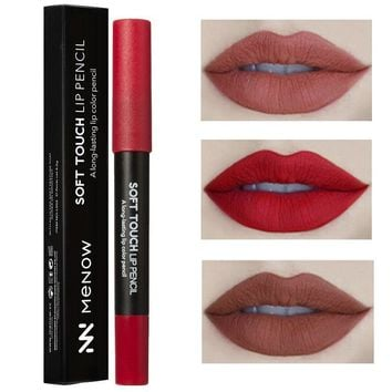 Matte Long Lasting Powder Frosted Nude Lipstick Pen