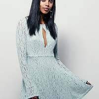 Free People Womens Lacey Fit And Flare Dress