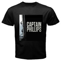 Captain Phillips Tshirt size S,M, L, XL, XXL, XXXL, 4XL and 5XL